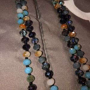 Long Boutique Bead Necklace